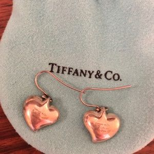 Tiffany and Co Concave Heart Earrings